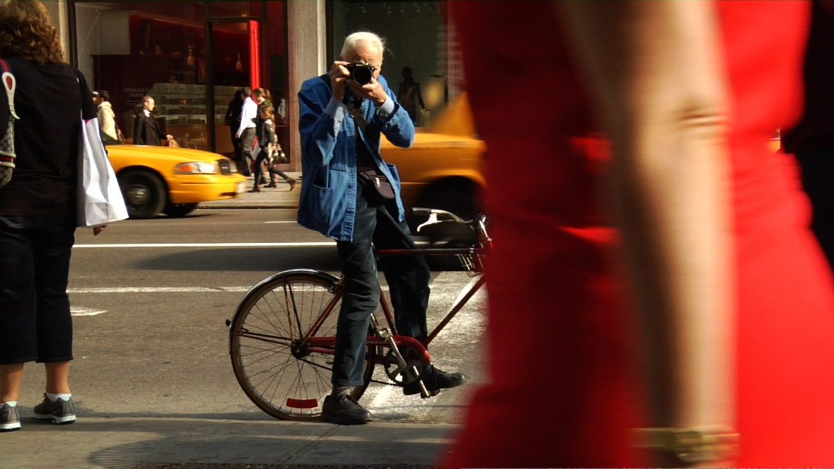 Bill Cunningham, legendary fashion photographer